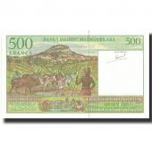 Billet, Madagascar, 500 Francs = 100 Ariary, Undated (1994), Undated, KM:75a