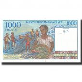 Billet, Madagascar, 1000 Francs = 200 Ariary, Undated (1994), Undated, KM:76a
