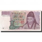 Banknote, South Korea, 1000 Won, Undated (1983), Undated, KM:47, AU(50-53)