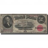 Banknote, United States, Two Dollars, 1917, 1917, KM:120, VG(8-10)