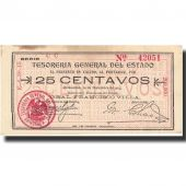 Billet, Mexico - Revolutionary, 25 Centavos, 1913, 1913-12-10, KM:S551j, SUP