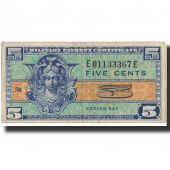 Banknote, United States, 5 Cents, Undated (1954), Undated, KM:M29a, VF(30-35)