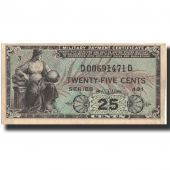 Banknote, United States, 25 Cents, Undated (1951), Undated, KM:M24a, AU(55-58)