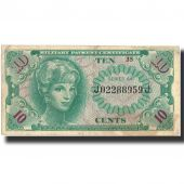Banknote, United States, 10 Cents, undated (1945), Undated, KM:M58a, VF(30-35)