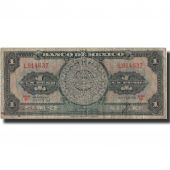 Billet, Mexique, 1 Peso, 1958, 1958-08-20, KM:59d, TB