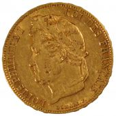 Louis Philippe I, 20 Francs gold laureate head