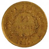 First Empire, 20 Francs Napoleon Ist with Empire reverse