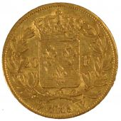 Louis XVIII, 20 Francs or buste nu