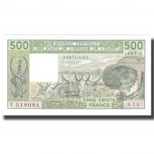 Banknote, West African States, 500 Francs, 1985, 1985, KM:306Ch, UNC(65-70)