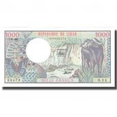 Banknote, Chad, 1000 Francs, 1980, 1980-06-01, KM:7, UNC(65-70)