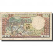 Banknote, Madagascar, 100 Francs =  20 Ariary, 1966, 1966, KM:57a, VF(20-25)