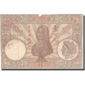 Banknote, FRENCH INDO-CHINA, 100 Piastres, KM:51d, F(12-15)