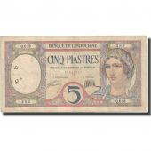 Banknote, FRENCH INDO-CHINA, 5 Piastres, Undated (1926), KM:49b, EF(40-45)