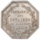 Company of the notaries of the administrative subdivision of Amiens, Token