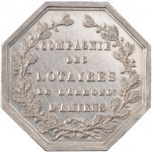 Company of the notaries of the district of Amiens, Token