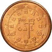 Portugal, Euro Cent, 2002, MS(65-70), Copper Plated Steel, KM:740
