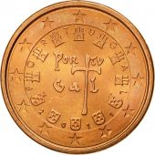 Portugal, 5 Euro Cent, 2011, MS(65-70), Copper Plated Steel, KM:742