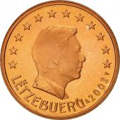 Luxembourg, 5 Euro Cent, 2003, MS(65-70), Copper Plated Steel, KM:77