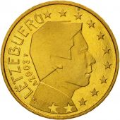 Luxembourg, 50 Euro Cent, 2003, MS(65-70), Brass, KM:80