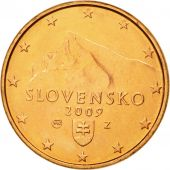 Slovaquie, Euro Cent, 2009, FDC, Copper Plated Steel, KM:95