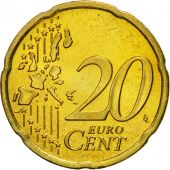 IRELAND REPUBLIC, 20 Euro Cent, 2004, EF(40-45), Brass, KM:36
