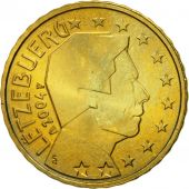 Luxembourg, 10 Euro Cent, 2004, MS(63), Brass, KM:78