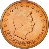 Luxembourg, 2 Euro Cent, 2004, MS(63), Copper Plated Steel, KM:76