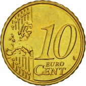 Slovenia, 10 Euro Cent, 2007, MS(63), Brass, KM:71