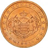 Monaco, 2 Euro Cent, 2001, MS(63), Copper Plated Steel, KM:168