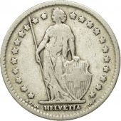 Coin, Switzerland, Franc, 1910, Bern, VG(8-10), Silver, KM:24