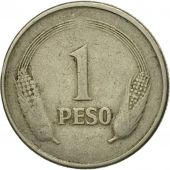 Coin, Colombia, Peso, 1979, EF(40-45), Copper-nickel, KM:258.2