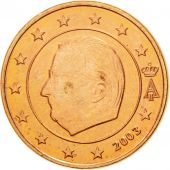 Belgium, Euro Cent, 2003, MS(63), Copper Plated Steel, KM:224