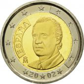 Spain, 2 Euro, 2002, MS(65-70), Bi-Metallic, KM:1047