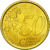 Spain, 50 Euro Cent, 2000, MS(65-70), Brass, KM:1045