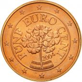 Austria, 5 Euro Cent, 2004, MS(65-70), Copper Plated Steel, KM:3084