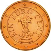 Austria, Euro Cent, 2004, MS(65-70), Copper Plated Steel, KM:3082
