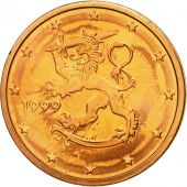 Finlande, 2 Euro Cent, 1999, FDC, Copper Plated Steel, KM:99