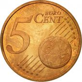 Netherlands, 5 Euro Cent, 2001, MS(63), Copper Plated Steel, KM:236