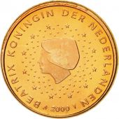 Netherlands, Euro Cent, 2000, MS(65-70), Copper Plated Steel, KM:234
