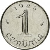 Coin, France, Épi, Centime, 1986, Paris, MS(63), Stainless Steel, KM:928