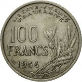 Monnaie, France, Cochet, 100 Francs, 1954, TB+, Copper-nickel, Gadoury:897