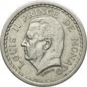 Coin, Monaco, Louis II, Bazor, 2 Francs, Undated (1943), Paris, VF(30-35)