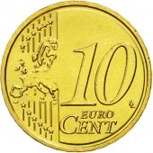 Latvia, 10 Euro Cent, 2014, MS(63), Brass, KM:153