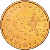 Slovenia, 5 Euro Cent, 2007, MS(63), Copper Plated Steel, KM:70