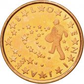 Slovenia, 5 Euro Cent, 2007, MS(60-62), Copper Plated Steel, KM:70