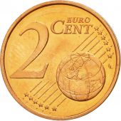 Slovenia, 2 Euro Cent, 2007, MS(60-62), Copper Plated Steel, KM:69