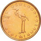 Slovenia, Euro Cent, 2007, MS(63), Copper Plated Steel, KM:68