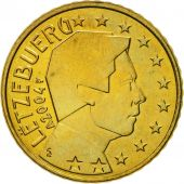 Luxembourg, 50 Euro Cent, 2004, MS(60-62), Brass, KM:80