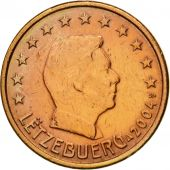 Luxembourg, 5 Euro Cent, 2004, AU(55-58), Copper Plated Steel, KM:77