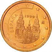 Espagne, 2 Euro Cent, 1999, SPL, Copper Plated Steel, KM:1041